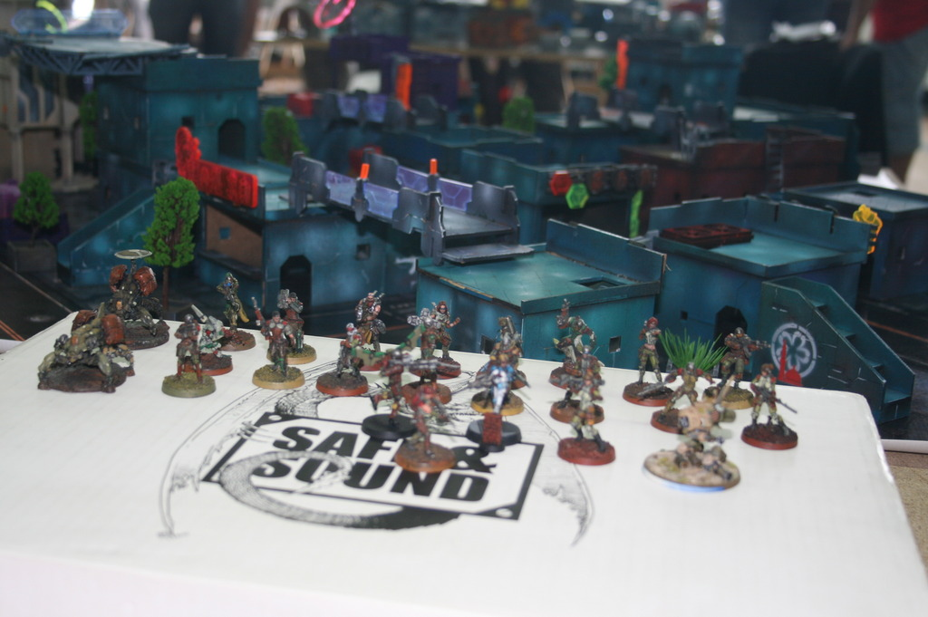 A blurry shot of my army. Well... it could be worse!